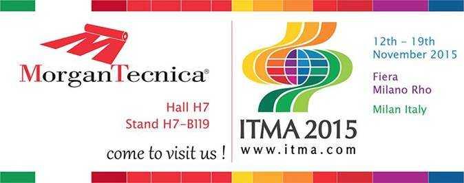 Приглашаем на выставку ИТМА 2015 в Милане, Италия, выставочный комплекс Fiera Milano Rho, 12 – 19 ноября 2015 года