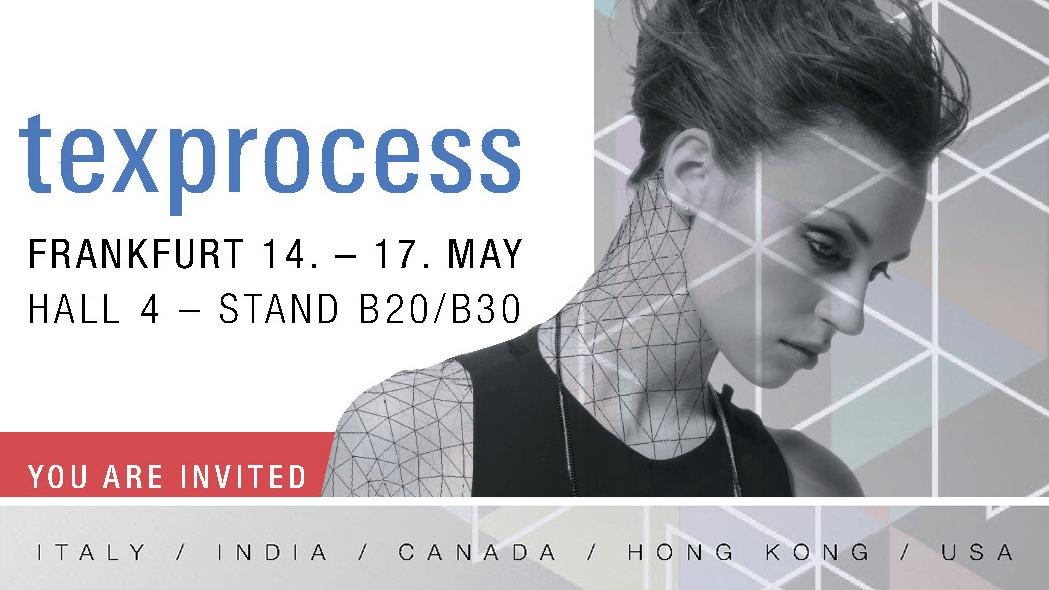 Приглашение на выставку Texprocess 2019 с 14 по 17 мая 2019