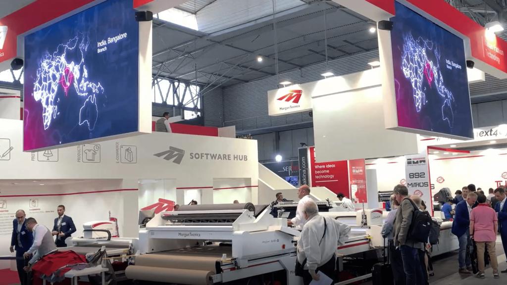 Видео отчет Моргана по Выставке ITMA 2019 в Барселоне